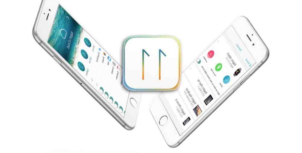 Iphone 5 avec ios 11