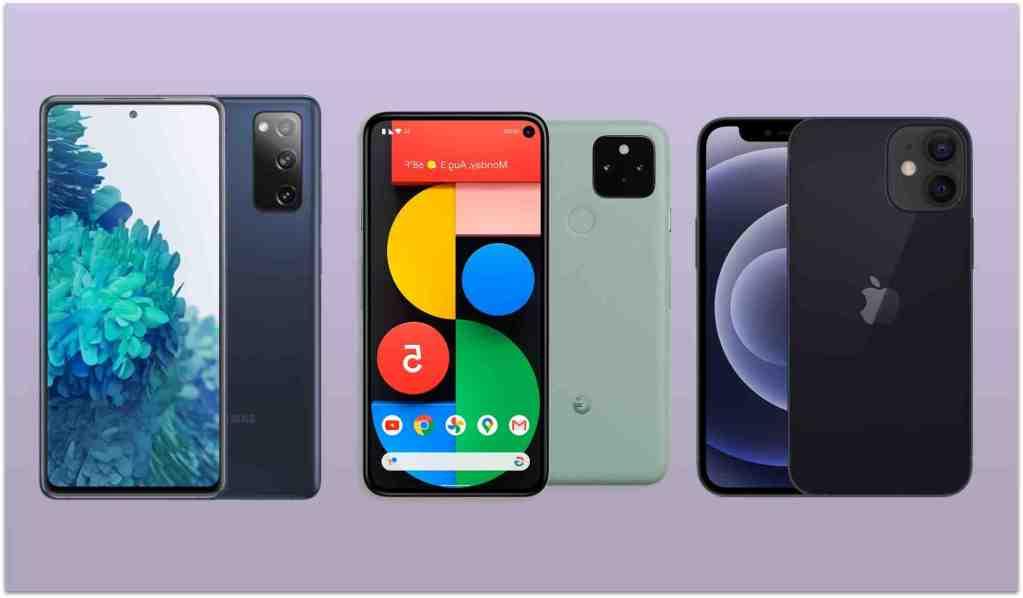 Iphone 5 vs iphone 12