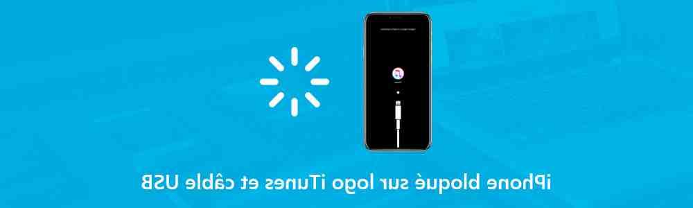 Iphone 5 zoomé bloqué