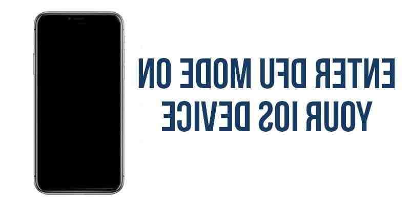 Iphone 8 plus dfu mode