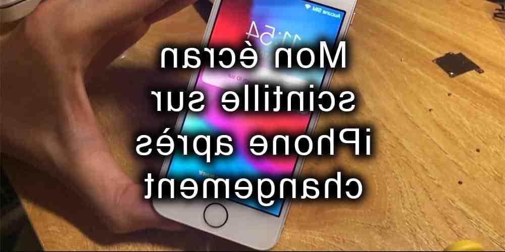 L'Iphone 5 continue de clignoter avec le logo Apple