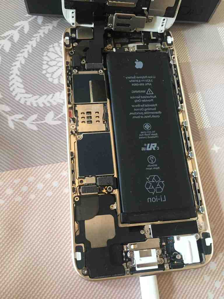 L'Iphone 8 plus ne s'allume pas