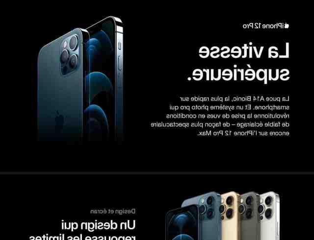 Où acheter l'iPhone 12 Pro Max en plusieurs fois ?