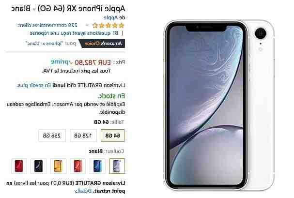 Où acheter un iPhone XR reconditionné ?