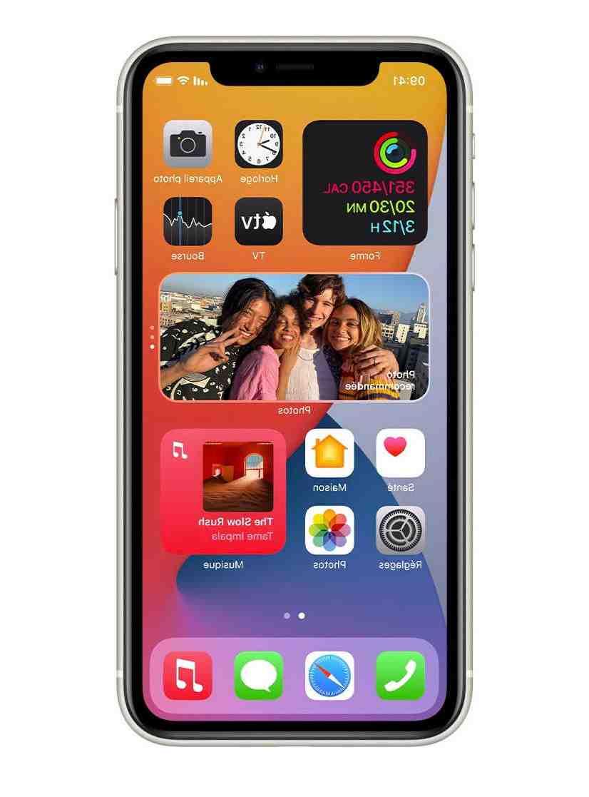 Où trouver les widgets sur iPhone ?