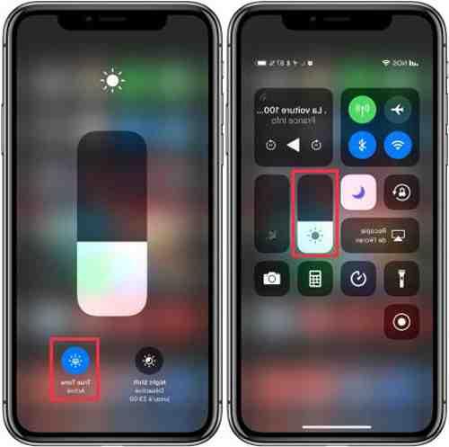 Pourquoi l ecran de l'iPhone 12 est jaune ?