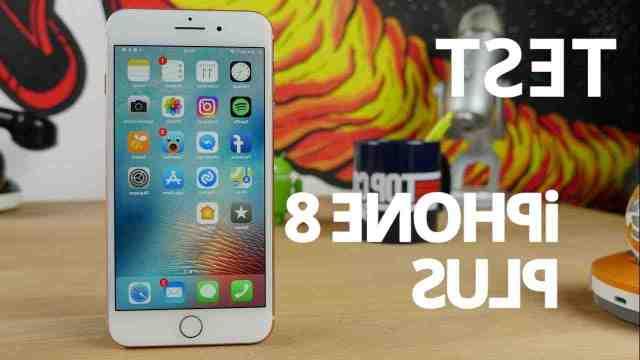 Quand est sorti l'iPhone 8 plus ?