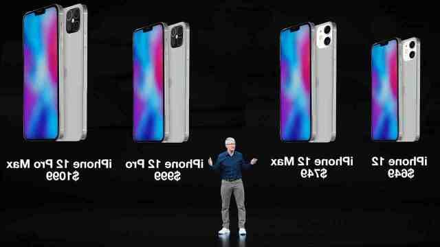 Quel iPhone 12 mini ?