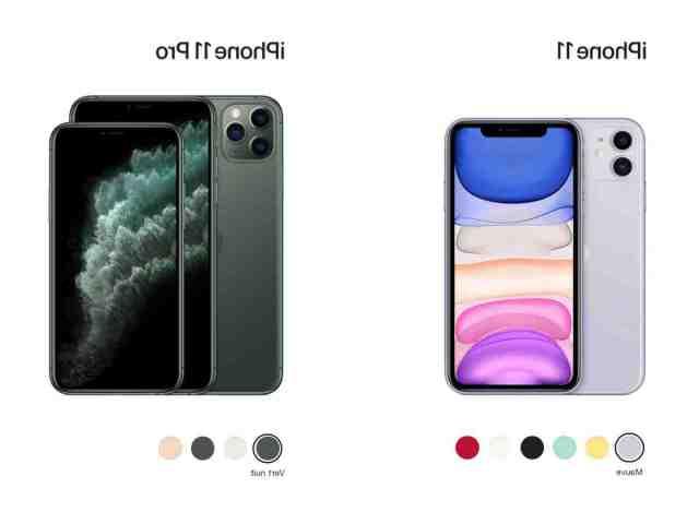 Quel iPhone fait la même taille que l'iPhone 11 ?