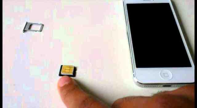 Quelle carte SIM pour iPhone 5 ?
