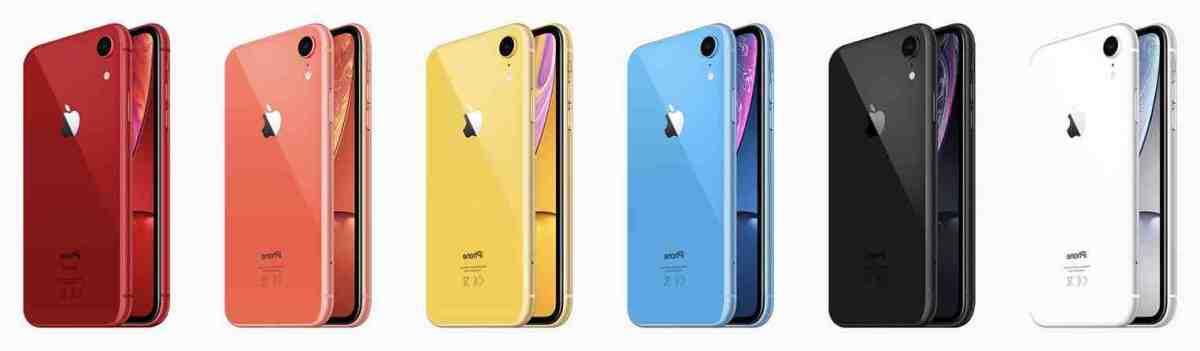 Quelle est la capacité de l'iPhone XR ?