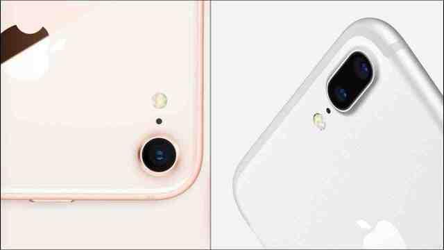 Quelle est la différence entre iPhone 8 et 7 ?
