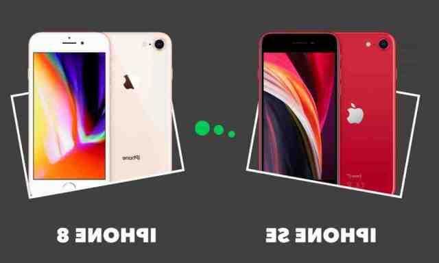 Quelle est la différence entre l'iPhone 8 et l'iPhone 8 plus ?