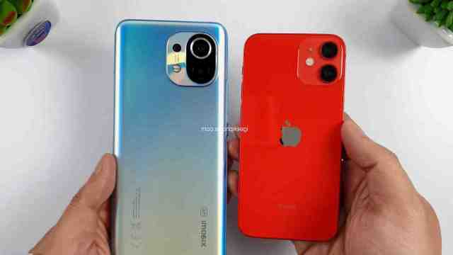 Quelle est la différence entre un iPhone 12 et un iPhone 12 mini ?