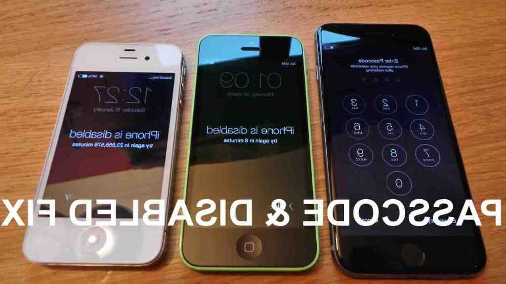 Réinitialiser l'Iphone 5