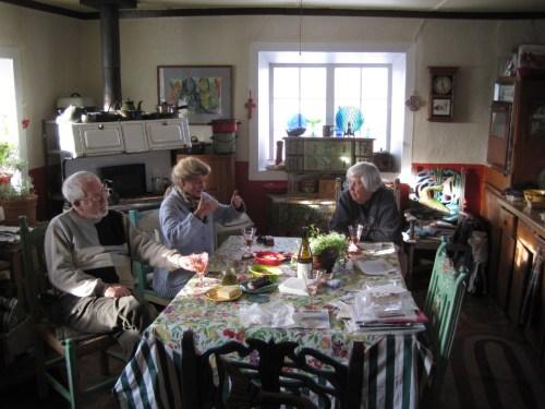 bill, anna & margaret