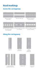 Highway Code Road Markings