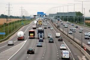 Overtaking on motorways