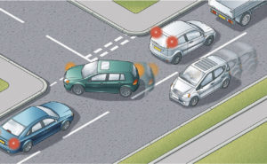 Slow Moving Traffic