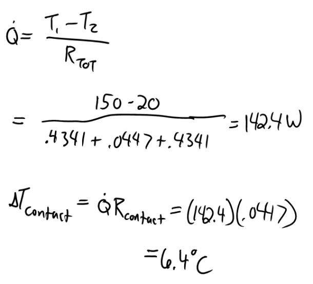 Solution: Two 5 cm diameter, 15 cm long aluminum bars (k