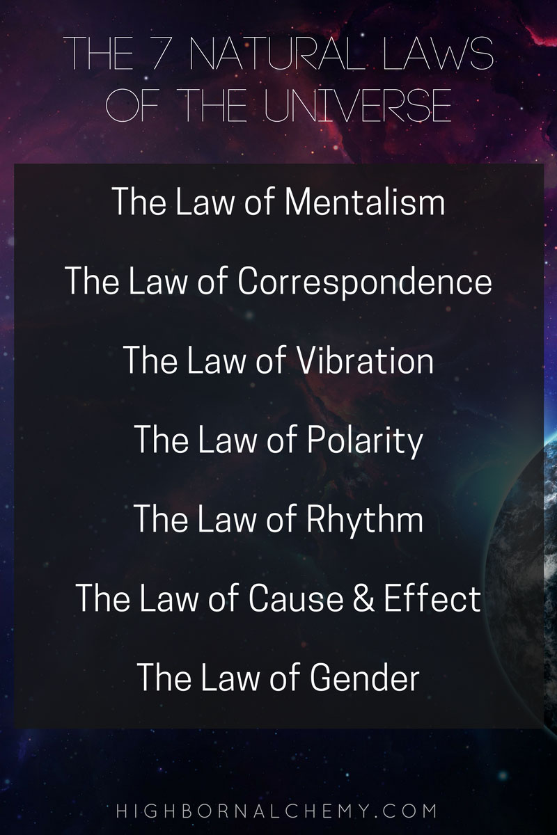 7 energy laws of life 22