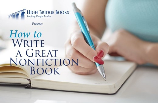 How to write a great nonfiction book