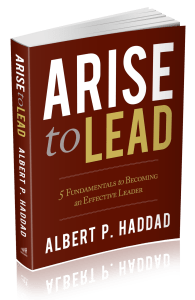 Arise to Lead_3d book cover image_transparent background