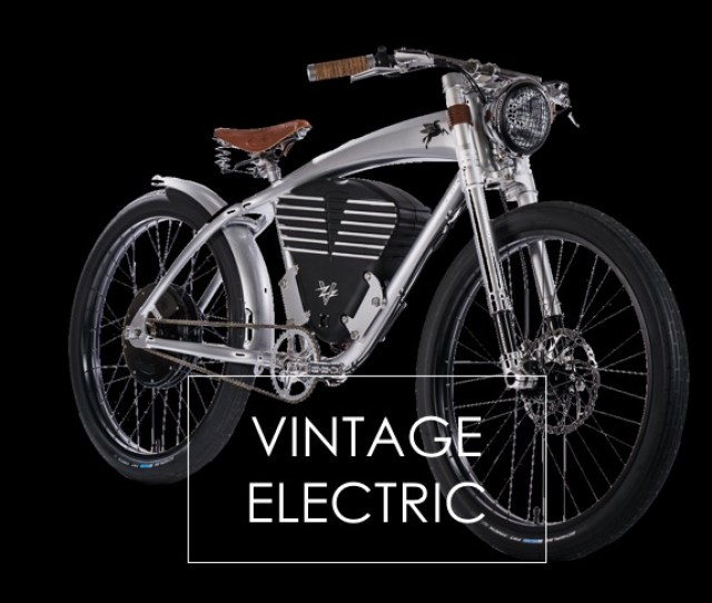Throttle Only Electric Bikes