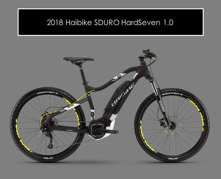 2018 Haibike Sduro Hardseven 1 0 High Country Ebikes