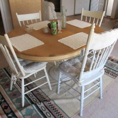 Kitchen Table With 4 Chairs Bar Stools For Island Must Be Sold By Sunday Night Sectional Dining Room Set