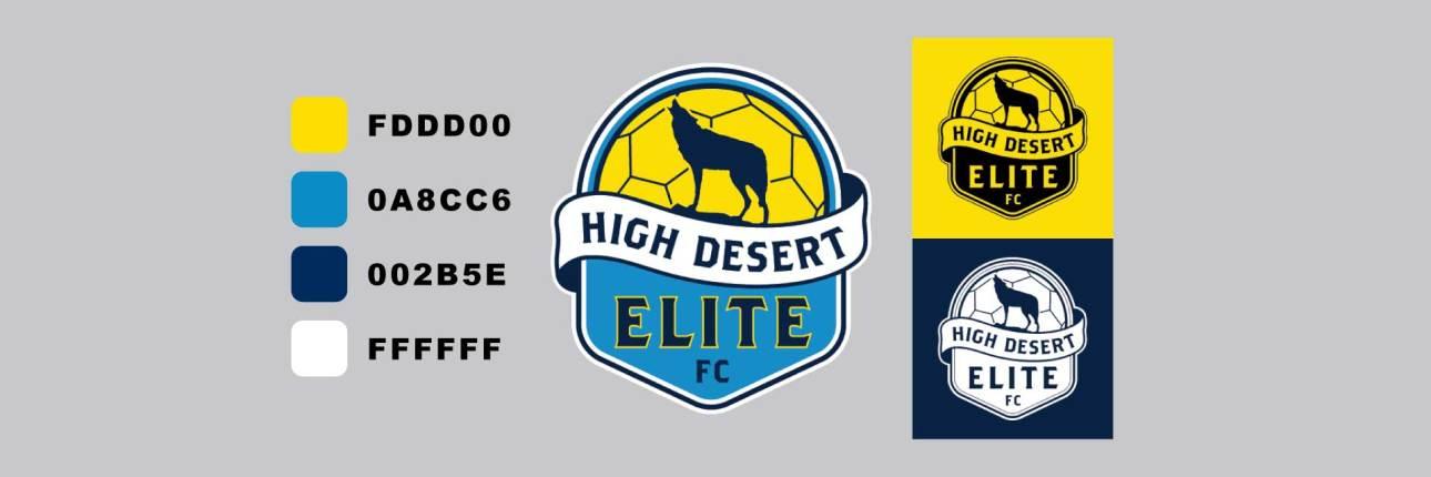 HIGH DESERT ELITE Logo Colors