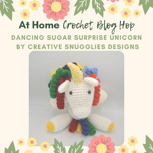 creative snugglies unicorn