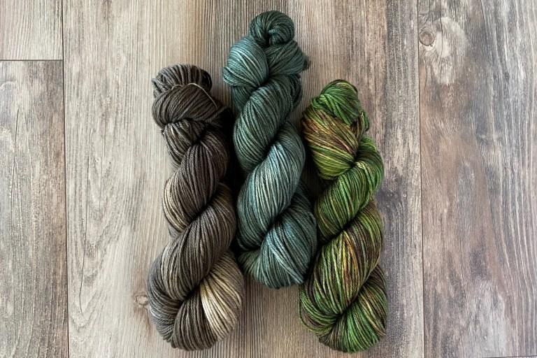 high desert yarn hand dyed yarn
