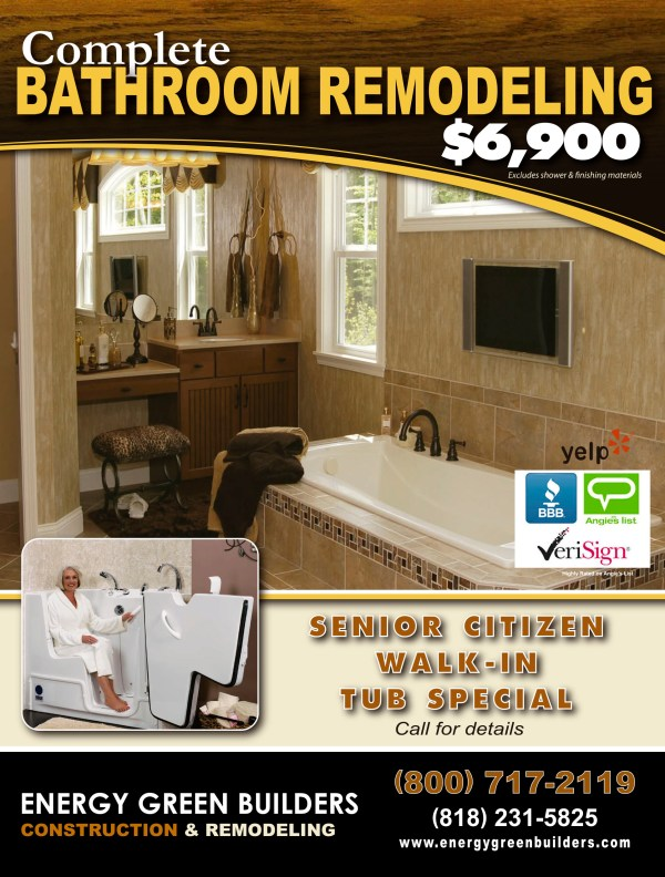 Kitchen and Bathroom Remodeling Ads