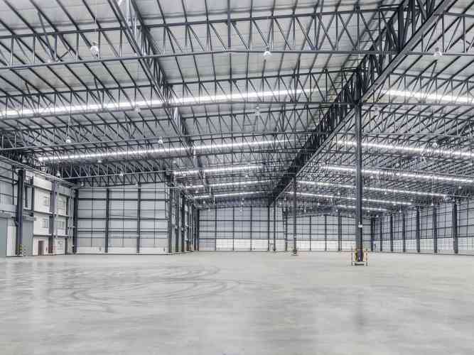 Commercial Steel Building Frame