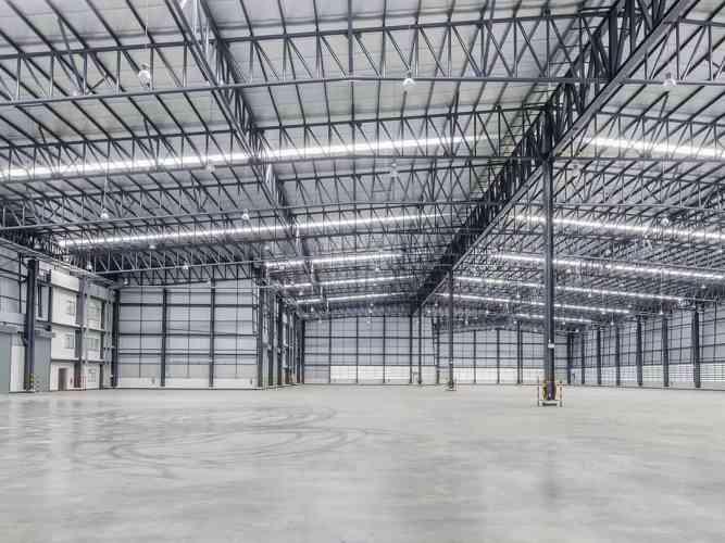 Commercial Steel Building Frame