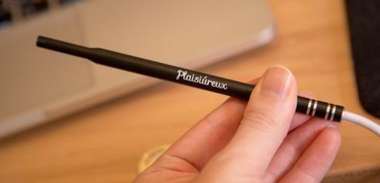 Plaisiureux 耳かき カメラ マイクロスコープ 内視鏡