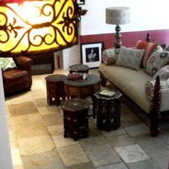 Moroccan Sofa Base Martha Stewart Pillows Decorating A Den With Style   High End Looks For Less