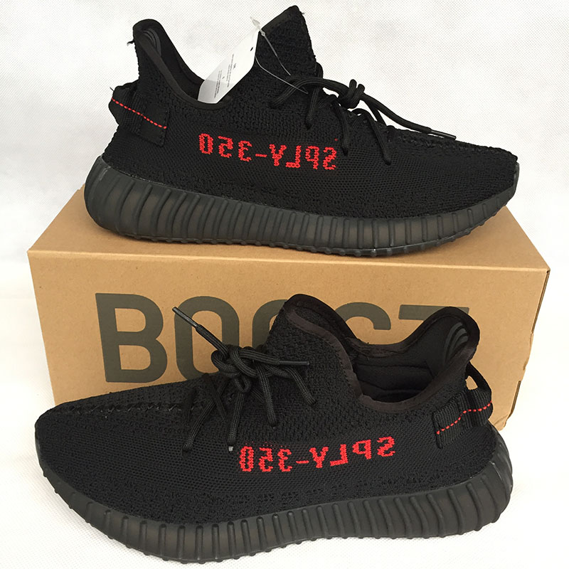 4aa298a1cfb41 Adidas Yeezy Boost SPLY 350 V2 Bred - Welcome To HighEndPlug