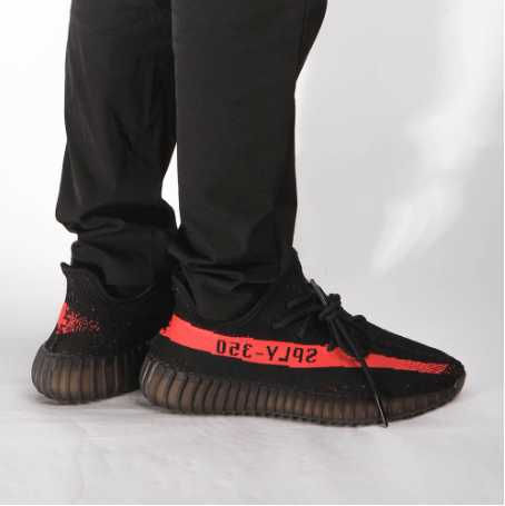 4b5d0da7e06cb Adidas Yeezy Boost 350 V2 Red Stripe  REAL BOOST  With Gift Set ...