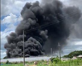 兵庫県小野市日吉町 火事 火災