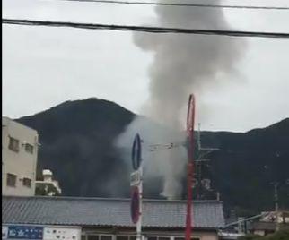 福岡県北九州市小倉北区妙見町 火事 火災