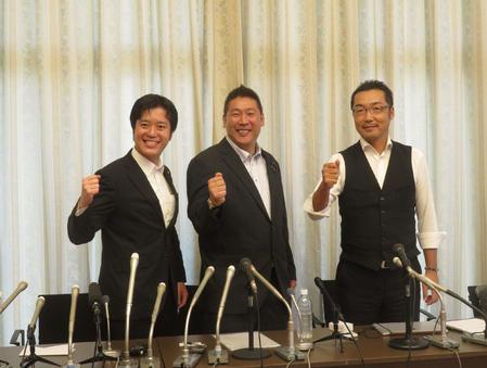 上杉隆 幹事長 辞任 N国党