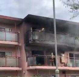 東京都杉並区和泉 火事 火災