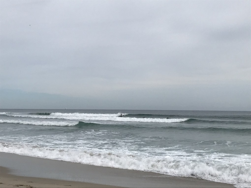 A few surfers out on a great afternoon in Palm Beach County