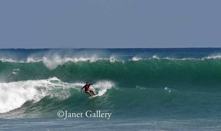 Palm Beach Surfer Cutback Winter Storm Riley