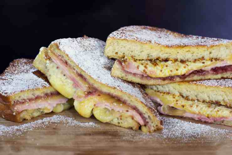 image of an old style monte cristo sandwiches