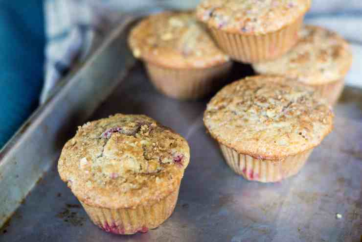 image of muffins sitting on pan