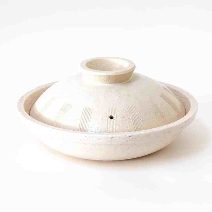 image of white donabe from toiro kitchen for gifts for the soul winter 2020
