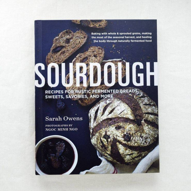 image of sarah owens sourdough cookbook for gifts for the soul winter 2020